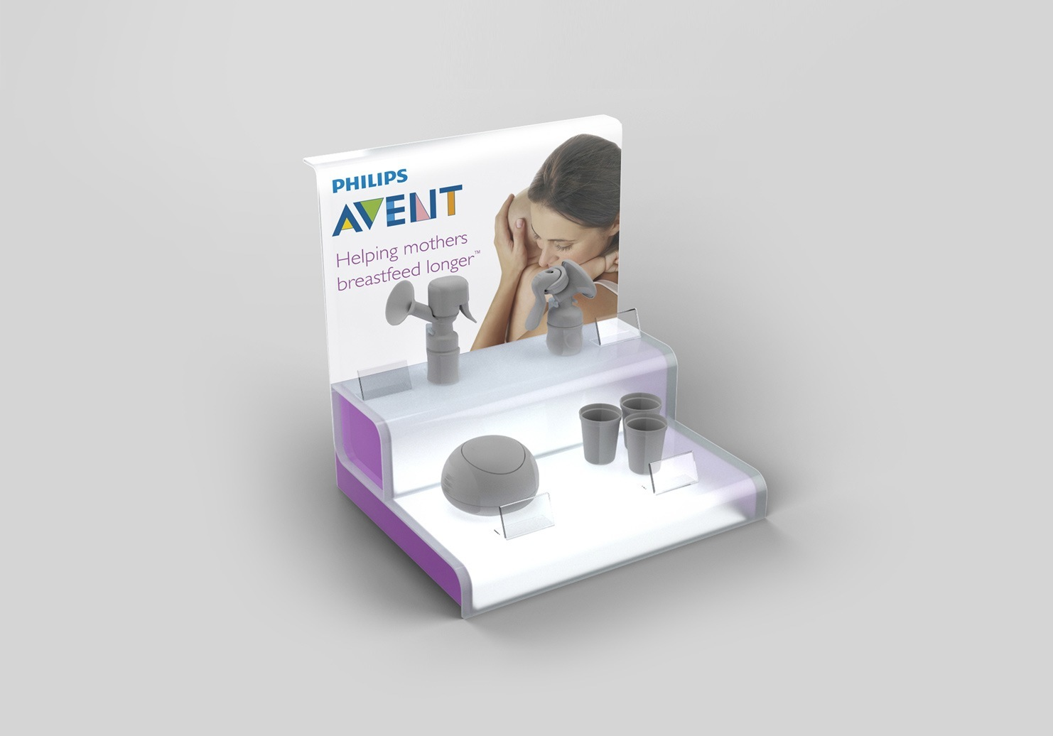 Philips Avent Display Stands